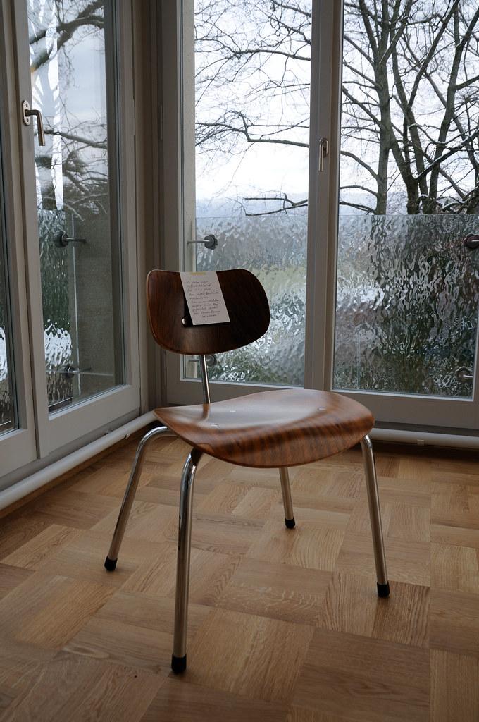 Eiermann Chair Se 68 Villa Rainhof Zurich Institut Für Pf Flickr