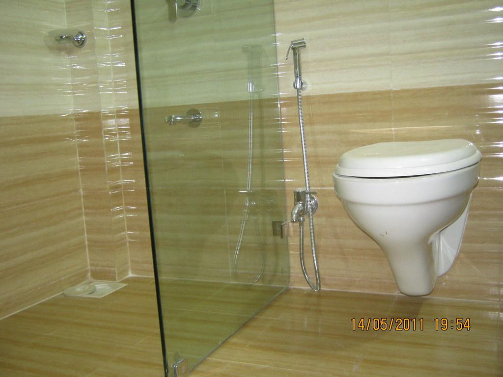 Jaquar bathroom fittings pune -  Wall Hung European Commode Chrome Plated Jaguar Equivalent Fittings