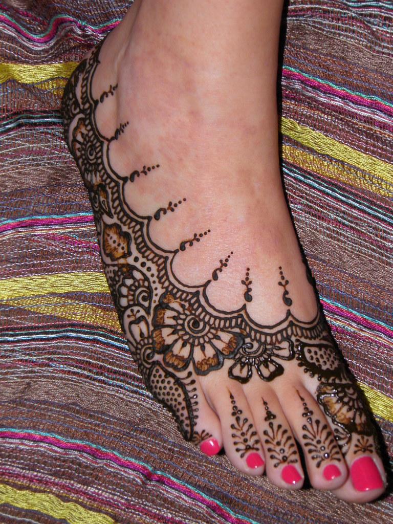 Henna On Foot Volcano Henna By Melissa Banford Volcanohenn Flickr