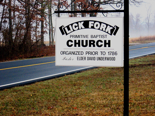 lick fork free will baptist