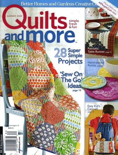 Quilts & More - Summer 2008 | by Happy Zombie