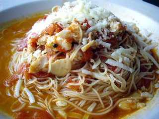 Crab Angel Hair Cappellini | by swampkitty