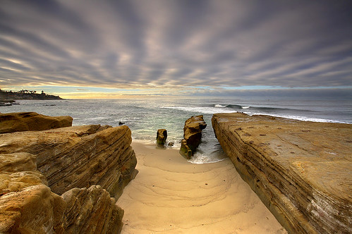 Sandstone and Sky #2 - La Jolla, California | by PatrickSmithPhotography