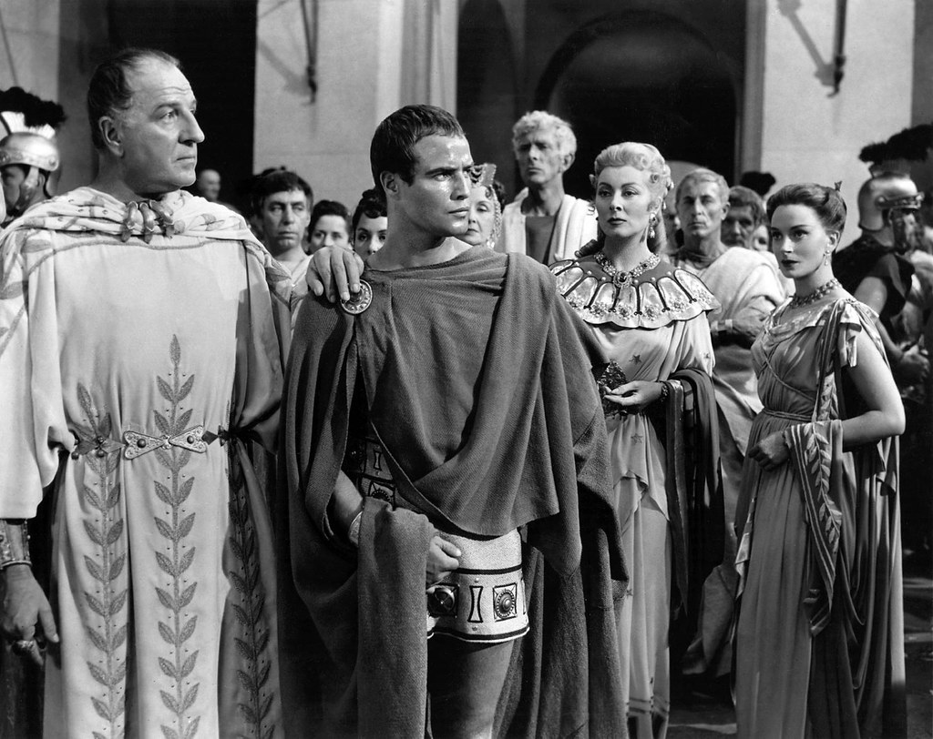 giulio cesare william shakespeare marlon brando