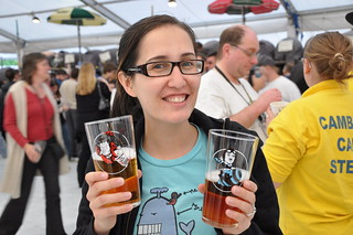 Pints glasses at the Cambridge Beer Festival | by lellobot