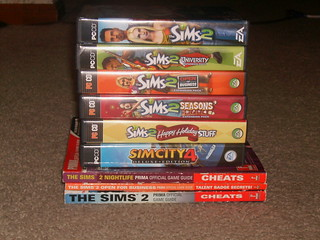 6 Sims games and 3 Sims 2 prima guides! 001 | by emokid32218