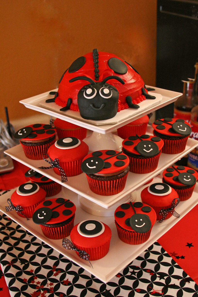 ... Ladybug Baby Shower | By Glorious Treats