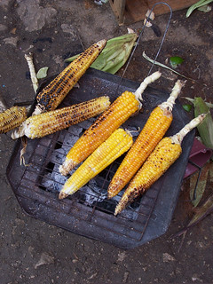 Grilled Maize, Guatamala | by The Hungry Cyclist