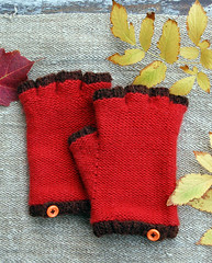 Whit's Knits: Cashmere Fingerless Gloves | by the purl bee