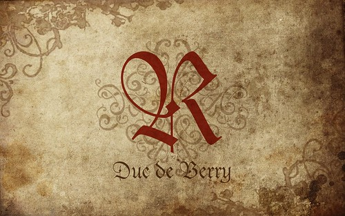 """R"" from Duc de Berry 