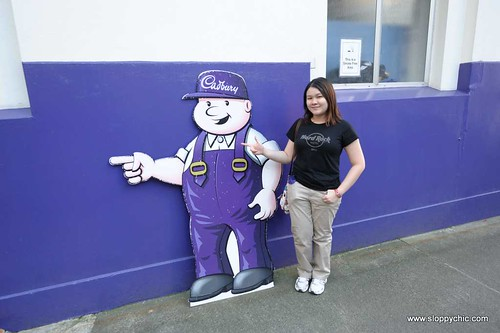 Cadbury chocolate factory Dunedin New Zealand milkman | by huixin_ng