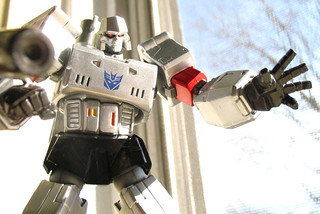 Window Revoltech Megatron hates you. | by naladahc