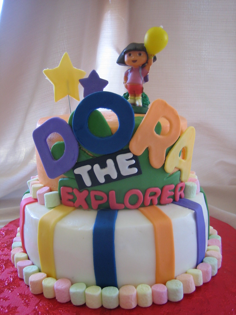 Dora The Explorer Birthday Cake Dora The Explorer Birthday Flickr