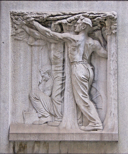 Chicago City Hall Bas Relief - Parks | by Atelier Teee