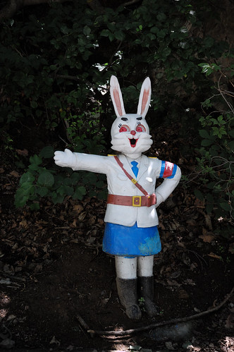 Rabbit Statue, North Korea. | by (stephan)