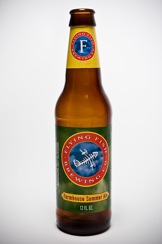 Flying Fish Farmhouse Summer Ale Eric Gaddy