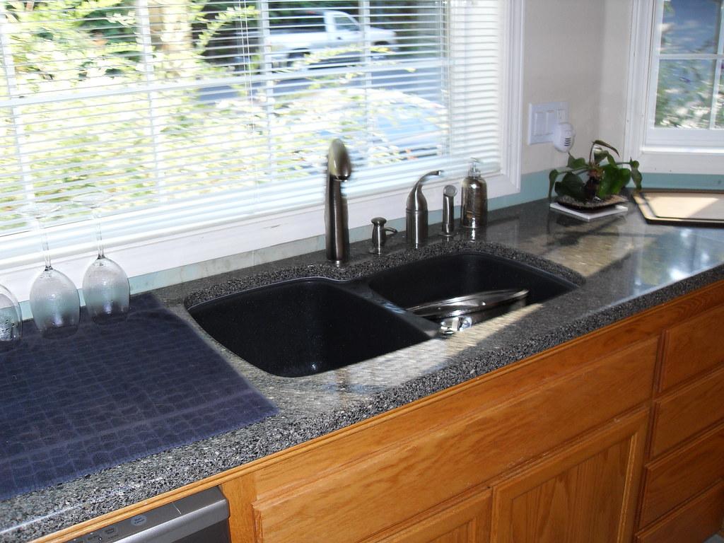 marvelous Built In Soap Dispenser For Kitchen Sink #9: Kitchen sink u0026 new faucet(s) u0026 built in soap dispenser. Fun!