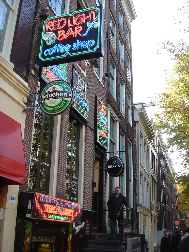 Red light bar amsterdam my favourite boozer orange side flickr red light bar amsterdam by fozz66 aloadofball Image collections