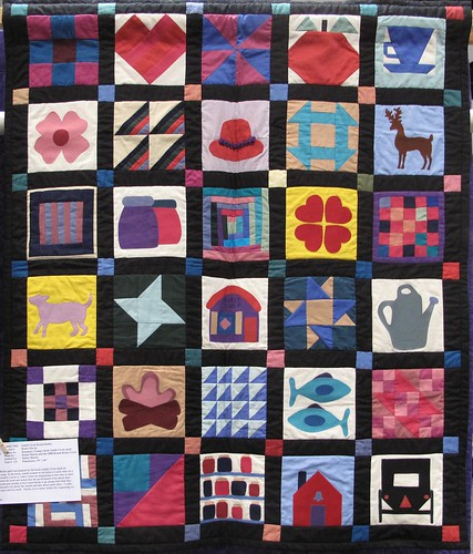 Santa Clara Valley Quilt Show -- Small Amish Quilt | by amyehodge