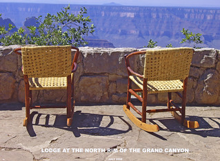 Rocking Chairs -- Grand Canyon North Rim (AZ) July 2008 | by Ron Cogswell