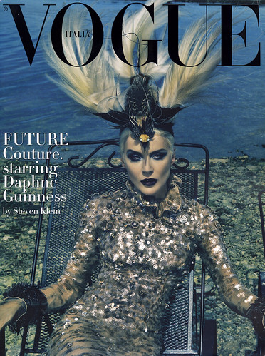 Vogue Italia Couture Supplement - Daphne Guinness | by fashion_editorials