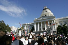 Proposition 8 Protest in Sacramento | by ProComKelly