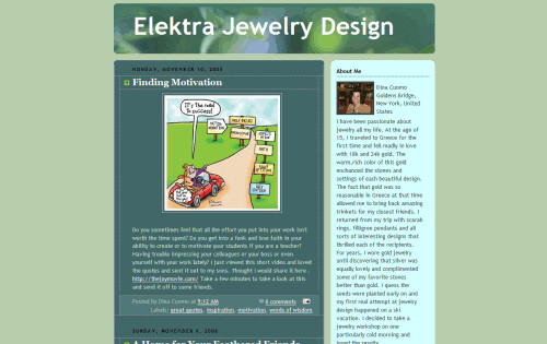 Elektra Jewelry Design | by Blogging Women