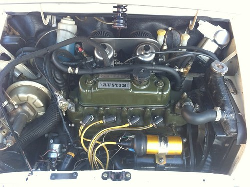 1967 austin mini cooper s 1275 for sale engine bring a trailer flickr. Black Bedroom Furniture Sets. Home Design Ideas