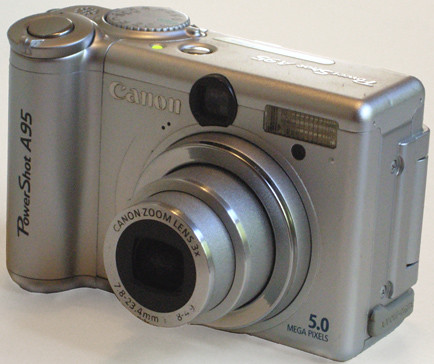 Canon Powershot A95 - Front - lens out | by awcam