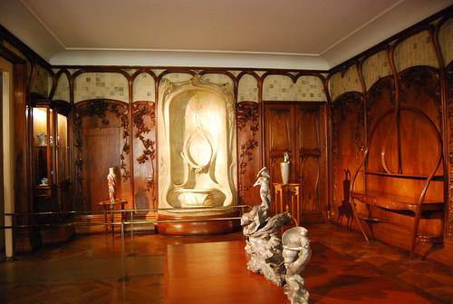 Art nouveau interior tim schapker flickr for Art nouveau interior design bedroom
