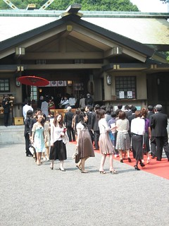 wedding at the Togo Shrine | by Doctor Memory