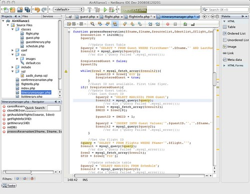 NetBeans IDE 6.5 Beta | by tmolini