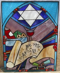 Stained Glass Window - Purim | by Glass&Light