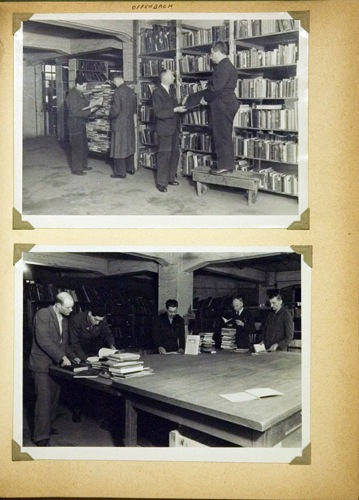Work At The Offenbach Archival Depot Rescuing Hebrew Book Flickr