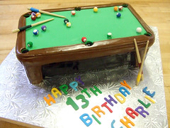 pooltablecake | by brooke noelle