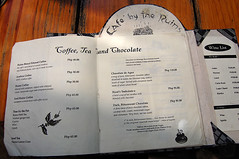Café by the Ruins menu | by miss joey ♥