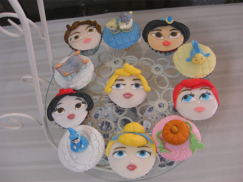 Disney Princesses Cupcakes | by Dragonfly Doces