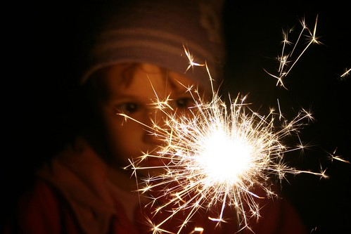 Fireworks & Sparklers - November 2nd 2008 | by Andy Wilkes