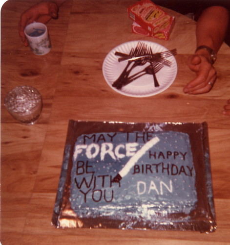 Star Wars Cake 1978 | by dishfunctional