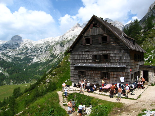 A mountain hut at Triglav | by 29cm