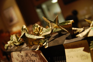 Origami tips at Hot Java | by Lisa Brewster