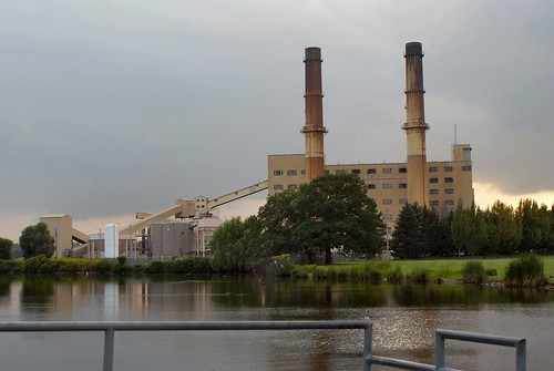 Russell Power Plant In Greece New York In February