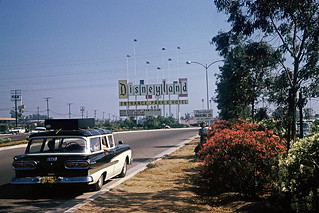 Disneyland entrance, 1960 | by lreed76