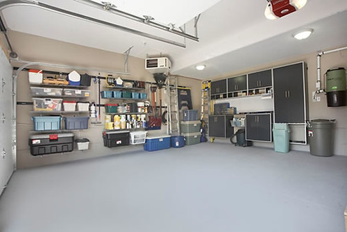 garage makeover after by rubbermaid products - Garage Makeover