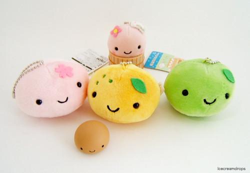 Cute Japanese Toys : Onsen manju kun plush charm mascot japanese kawaii cute t