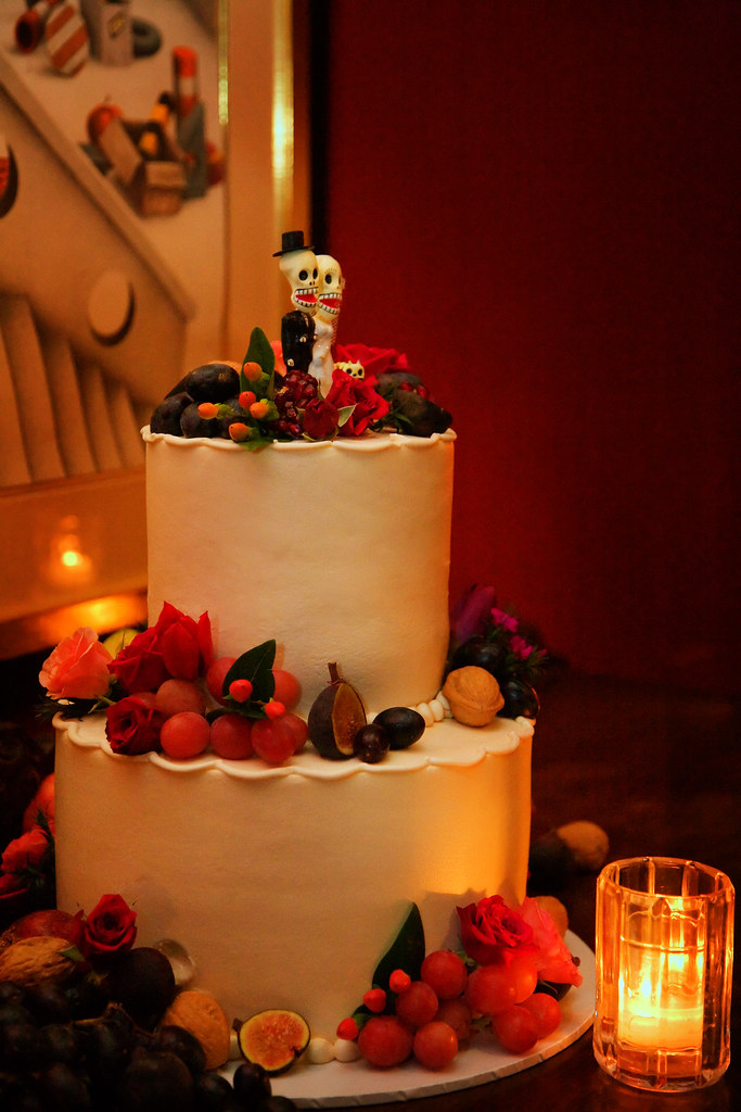 Dia de los muertos Wedding Cake | Buz Carter | Flickr