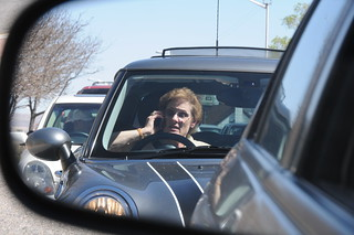 some guy in traffic on his cell phone. | by Jim Legans, Jr