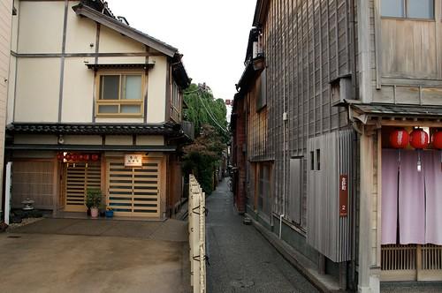 主計町茶屋街(Kazue-machi Chaya District)