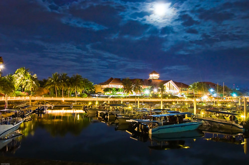 Sutera Resort Harbour at Night. | by Clint Koehler