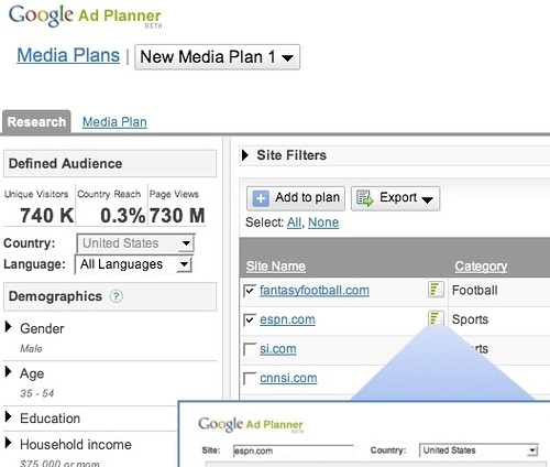 Google Ad Planner | by search-engine-land